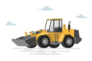 Loader bulldozer