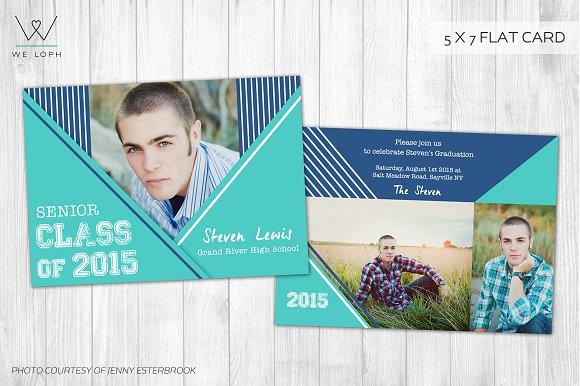 senior boy graduation card template cards