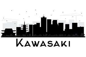Kawasaki Japan City Skyline
