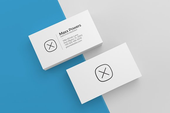 blank business card design mockup psd file free download - 580×387