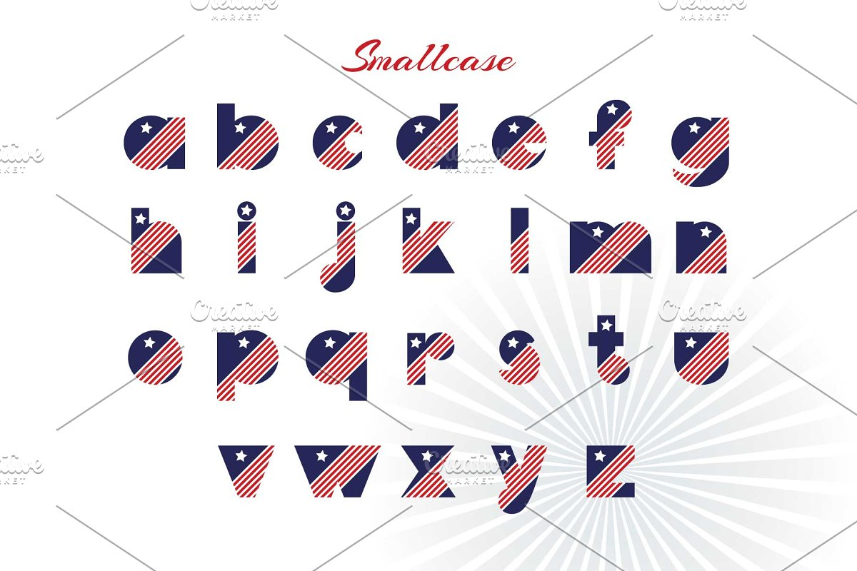 Patriot font family in Display Fonts - product preview 2
