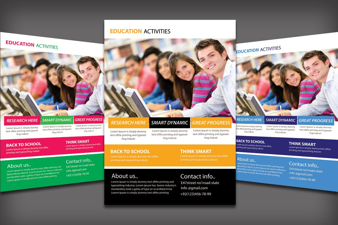education flyer photos graphics fonts themes templates education flyer template