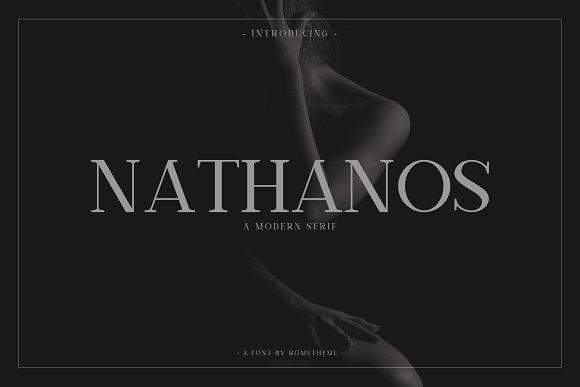 Nathanos Serif Typeface