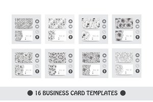 16 Floral Business Cards