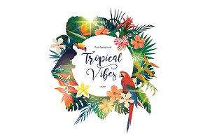 Exotic vector logo.
