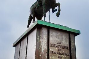 Koning Willem II statue The Hague