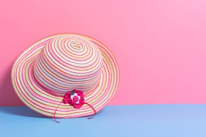 girl fashion hat