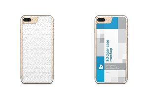 Apple iPhone 7 Plus 2d Clear Case