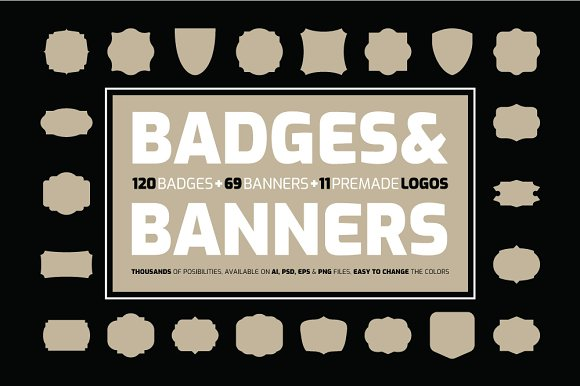 Badges Banners Kit