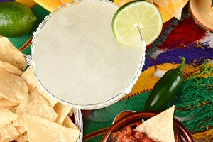 Margarita and Mexican Food