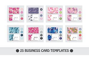 25 Floral Business Card Templates