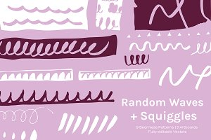 Wave + Squiggle | Pattern + Design