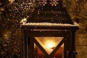 Vintage Lantern for Christmas