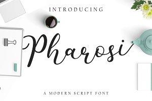 Pharosi Modern Script Font