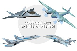 Military aviation vector