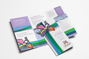 Modern Church Trifold Brochure