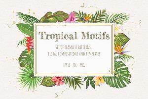 Tropical Motifs