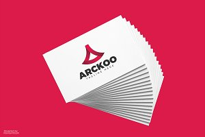 Arckoo A Letter Logo