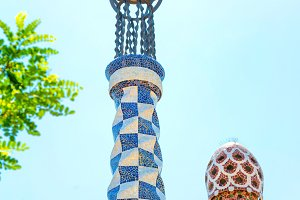 Park Guell by Antonio Gaudi