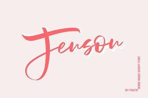 Jenson | Home Made Script