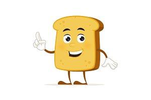 Toast Mascot