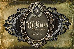 Victorian Metal Frames