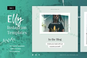 Elly Instagram Templates Vol.1