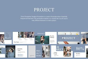 Project Creative Google Slide