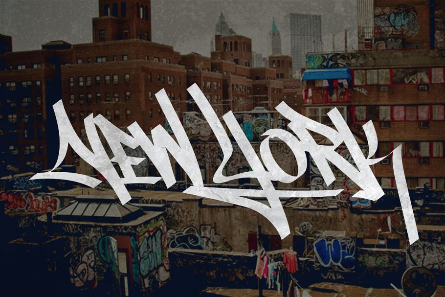 Graffiti Font | Street Tag Vol1 in Display Fonts - product preview 7