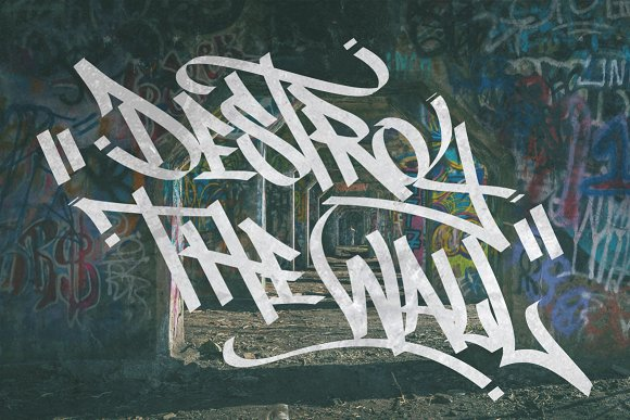 Graffiti Font | Street Tag Vol1 in Display Fonts - product preview 2