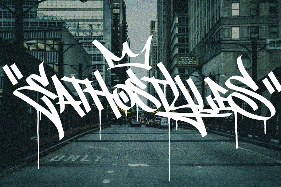 Graffiti Font | Street Tag Vol1 in Display Fonts - product preview 5