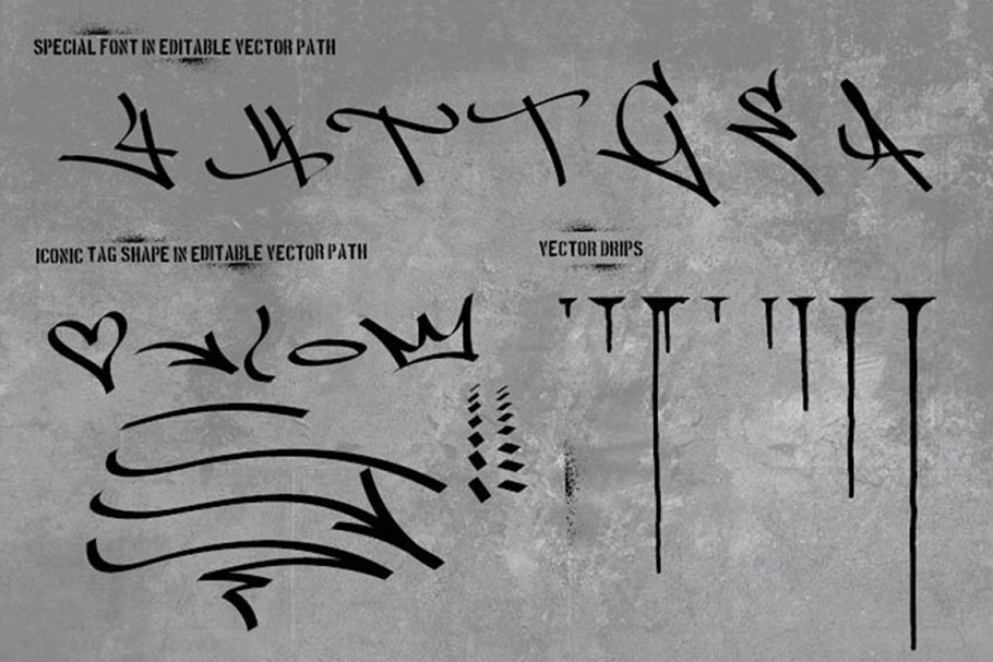 Graffiti Font | Street Tag Vol1 in Display Fonts - product preview 1