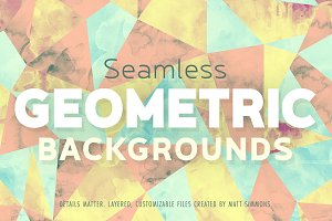 Seamless Geometric Backgrounds