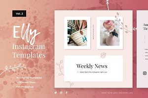 Elly Instagram Templates Vol.2