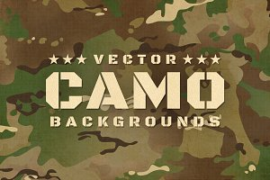Camouflage Seamless Backgrounds
