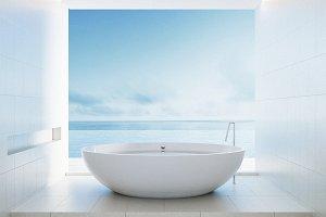 Beach bathroom - Luxury and modern