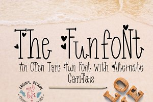 Funfont Modern Playful Cute Font