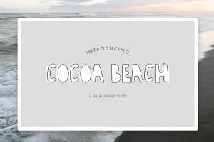 Cocoa Beach Font