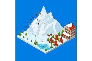 Ski Resort Concept and Elements
