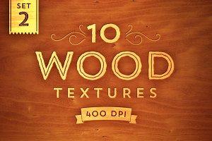 10 Wood Textures - Set 2