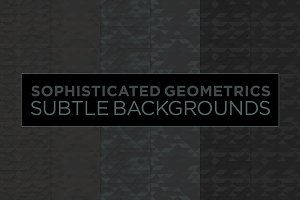 6 Subtle Geometric Backgrounds (b)