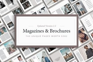 Magazine & Brochure Bundle