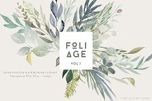 Foliage - Watercolor Leaves