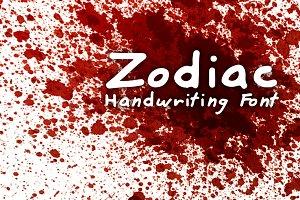 Murderino Zodiac Killer Font