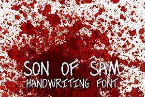 Murderino 2 Son of Sam Killer Font