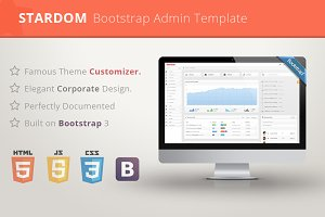 Stardom - Bootstrap Admin Template