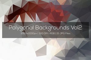 Polygonal Backgrounds Vol2