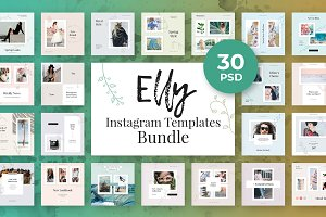 Elly Instagram Template Bundle