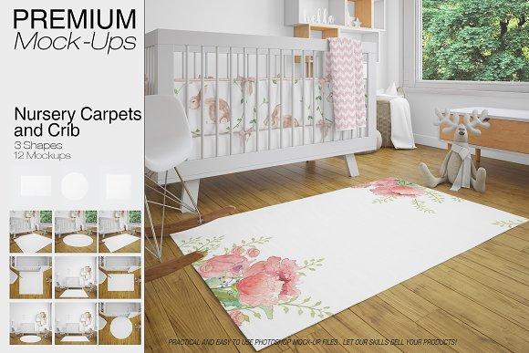 Carpets Crib Mockups Pack
