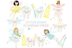 Tooth Fairy Clipart Teeth Caracter